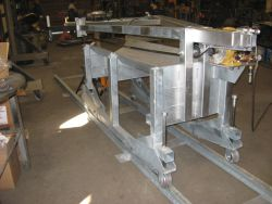 "30"" Launcher Tray, galvanized for offshore operation by BKWInc"