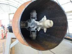 Spray Head for washing inside of pipe by BKW