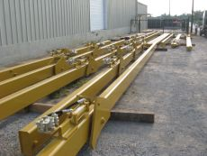 Double Joint Rack Extensions with Stops by BKW, Inc.